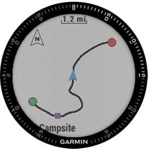 Navigering med Garmin