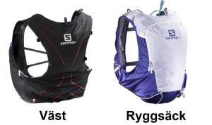 Väst eller Ryggsäck