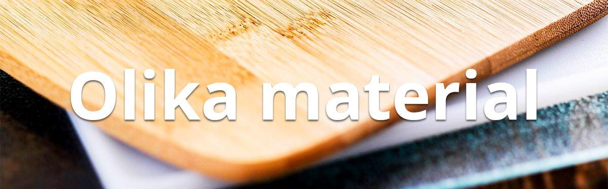 Material skärbrädor