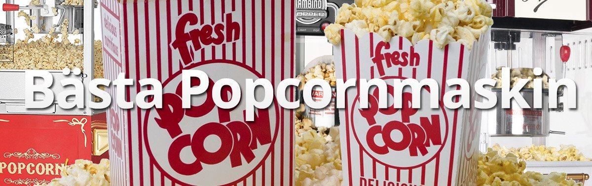 Bästa Popcornmaskin