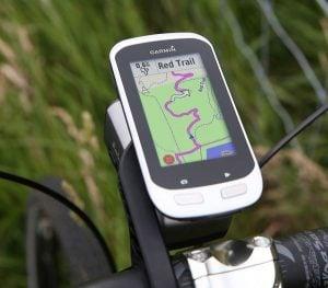 cykeldator med navigering