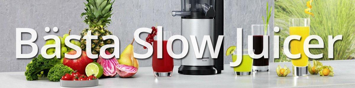 Bästa Slow Juicer