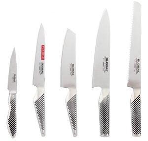 Global knivset 5st