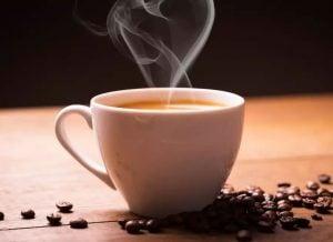 Kaffe ger också koffein