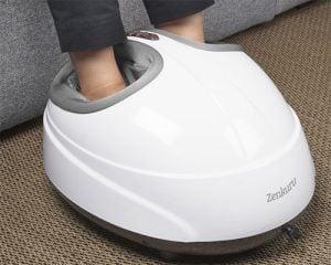 Zenkuru Fotmassage ger massage