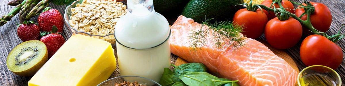 Hälsosam mat efter viktminskning