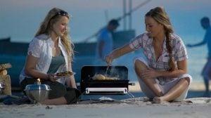 Weber Go Anywhere grilla på stranden