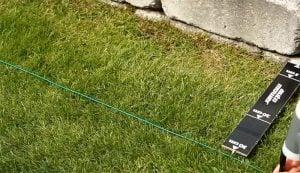 Begränsningsslinga robotgräsklippare