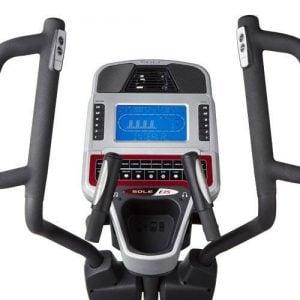Sole Fitness E35 display med kontroller
