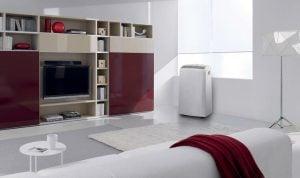 DeLonghi PAC N90 Silent Eco vardagsrum