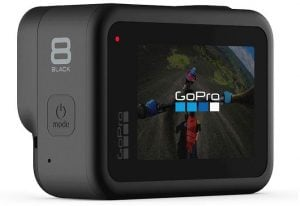 GoPro Hero8 Black baksida display