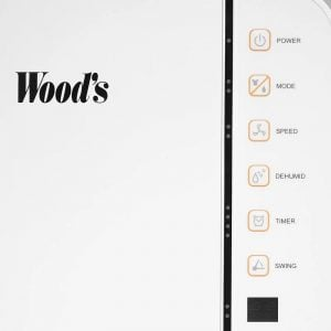 Woods MRD20 kontrollknappar