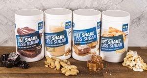 Diet Shake Less Sugar olika smaker
