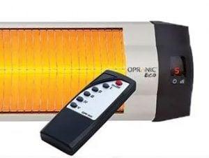 IR-värme styrning fjärrkontroll