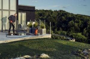 Högtryckstvätt för Terrass och Altan