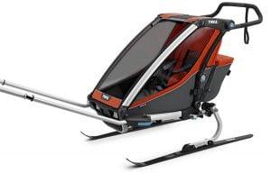 Thule Chariot Cross 1 - Skidor