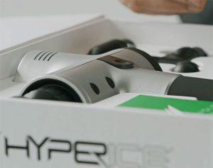 Hyperice HyperVolt packa upp