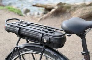 Batavus Torino E-Go+ elcykel - batteri och pakethållare