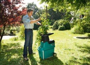 Bosch AXT 25 TC - bra kompostkvarn