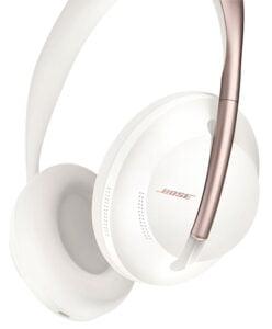 Bose Noise Cancelling Headphones 700 - vita/rosa over-ear hörlurar