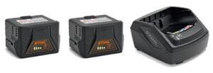 Häcksax - Batteri och laddare