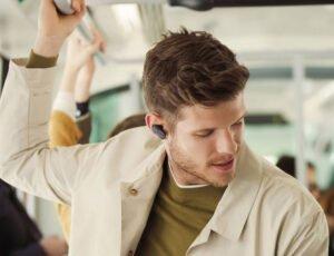 true wireless in-ear hörlurar för jobbet