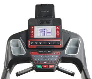 Sole Fitness F63 Löpband - Display med hållare för surfplatta