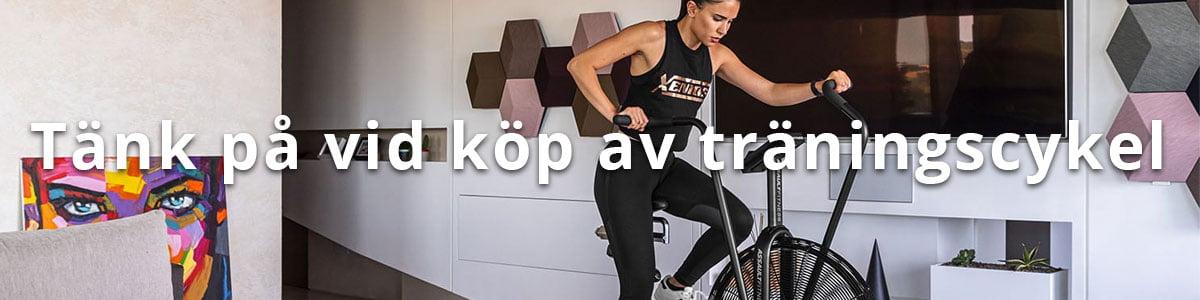 Tips vid köp av träningscykel