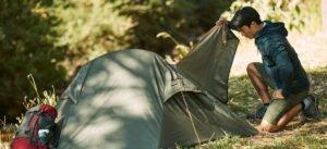 Storlek tält