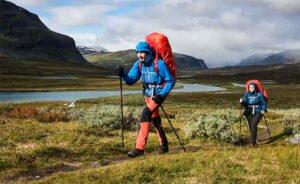 Vandring vikt tält