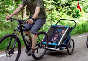 Cykelvagn flagga synlighet