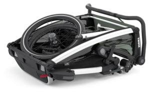 Cykelvagn och hopfällbarhet