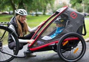 cykelvagn med bra komfort