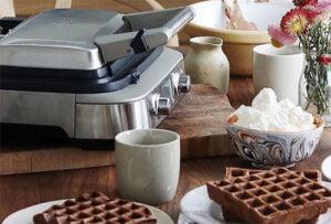 Sage The Smart Waffle med chokladvåfflor