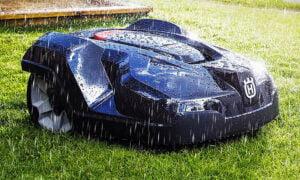Husqvarna Automower 315 - klarar alla väder