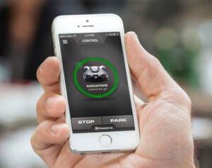 Husqvarna Automower Connect - smartphone app för robotgräsklippare