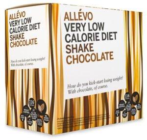 Allevo VLCD Shake - pulverdiet med smak choklad