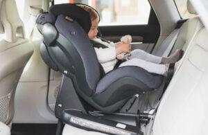 BeSafe iZi Kid X3 i-Size - bilbarnstol bakåtvänd i baksätet