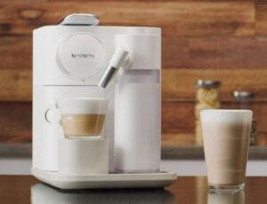 Nespresso Gran Lattissima EN650 med mjölkskummare
