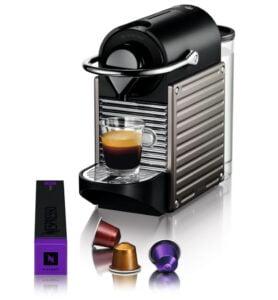 Nespresso Pixie C61/D61 - kaffekapslar och maskin
