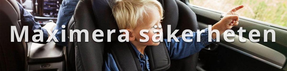 Bilbarnstolar säkerhet