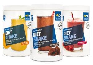 Diet Shake Måltidsersättning - olika smaker