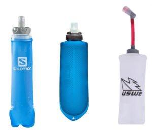 Flaskor till löparväst och löparryggsäck