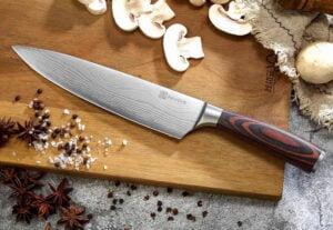 Bra skärbräda till köksknivar