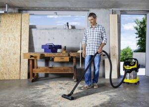 Grovdammsugare för privata renoveringar och snickerier