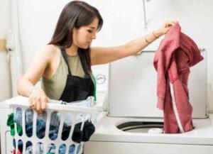 Toppmatad tvättmaskin