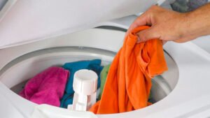 toppmatad tvättmaskin ovanligt