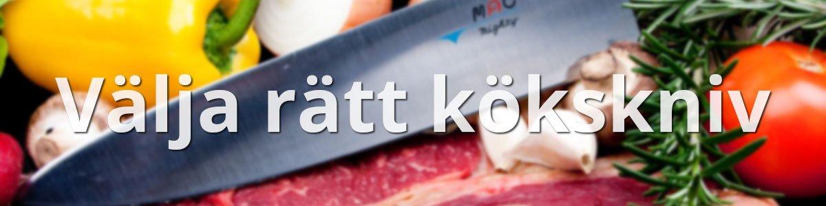 Välja rätt kökskniv