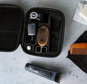 OBH Nordica Björn Axén Tools Grooming Kit - Väska med skäggtrimmer och tillbehör