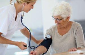 Mäta blodtrycket